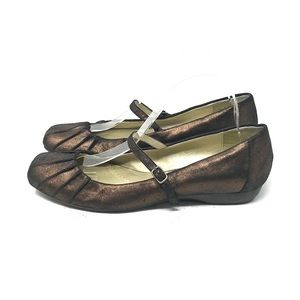 Naturalizer Metallic Mary Janes